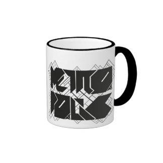 Breakfast metropolis ringer coffee mug