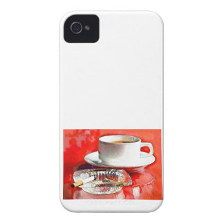 Breakfast of Champions - Coffee & Cigarettes iPhone 4 Case-Mate Case