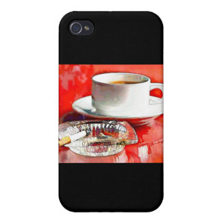 Breakfast of Champions - Coffee & Cigarettes iPhone 4/4S Cases