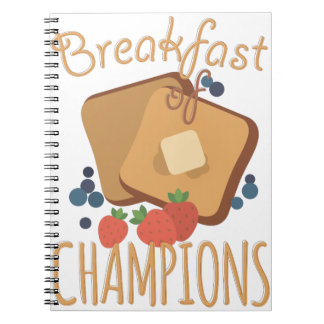 Breakfast Of Champions Notebook