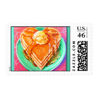 Breakfast of Love in the Fifties Stamps