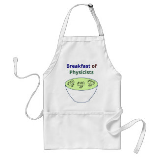 Breakfast of Physicists Adult Apron