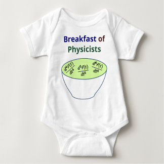 Breakfast of Physicists Baby Bodysuit