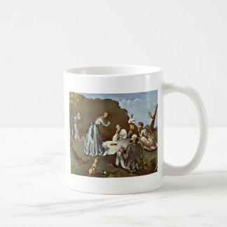 Breakfast Outdoors By Paul Cézanne (Best Quality) Mug