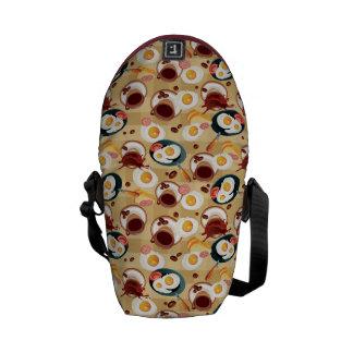 Breakfast Pattern 3 Courier Bag