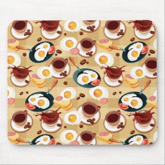 Breakfast Pattern 3 Mouse Pad