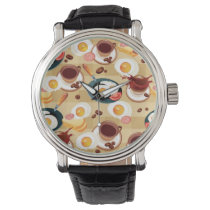 Breakfast Pattern 3 Watch