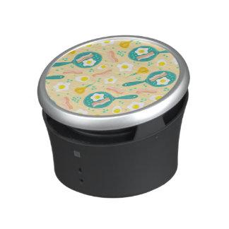 Breakfast Pattern Bluetooth Speaker