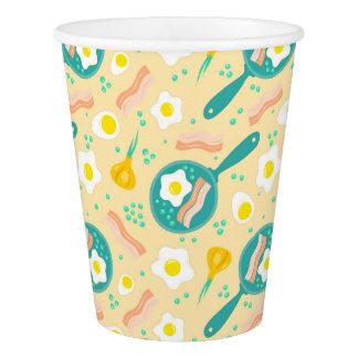 Breakfast Pattern Paper Cup