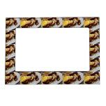 Breakfast Pile Photo Frame Magnet