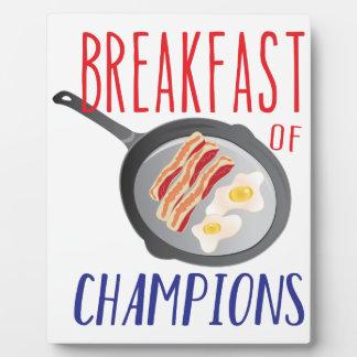 Breakfast Plaque