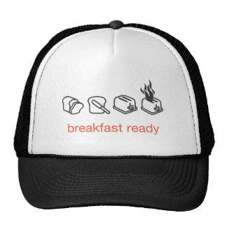 breakfast ready mesh hats