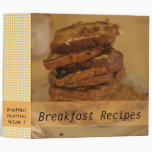 Breakfast Recipes French Toast Photo Binder