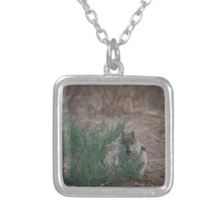 Breakfast Silver Plated Necklace