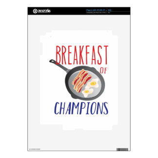 Breakfast Skin For iPad 2