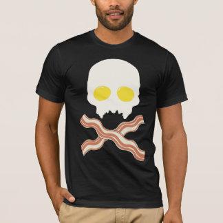 Breakfast Skull T-Shirt