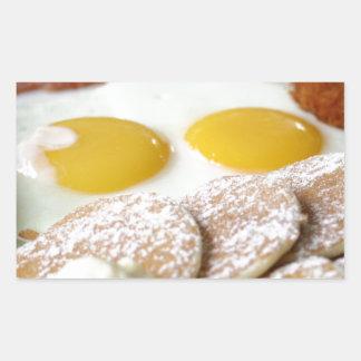 Breakfast Rectangle Sticker