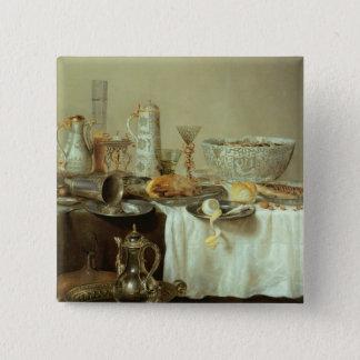 Breakfast Still Life, 1638 Button