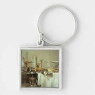 Breakfast Still Life, 1638 Keychain
