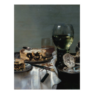 Breakfast Table with Blackberry Pie by Heda Flyer