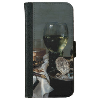 Breakfast Table with Blackberry Pie by Heda iPhone 6/6s Wallet Case