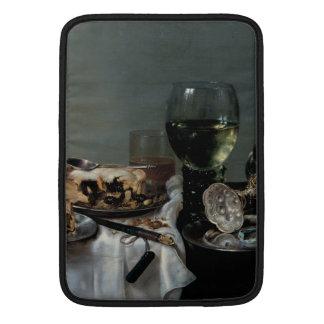 Breakfast Table with Blackberry Pie by Heda Sleeves For MacBook Air