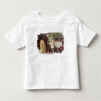 Breakfast Time - Morning Games (oil on canvas) Toddler T-shirt