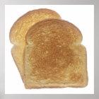 Breakfast Toast Poster