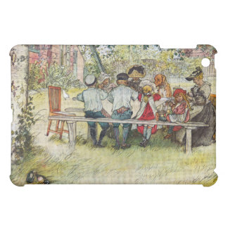 Breakfast under the Big Birch by Carl Larsson iPad Mini Covers