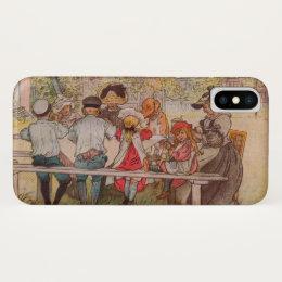 Breakfast Under the Big Birch by Carl Larsson iPhone X Case