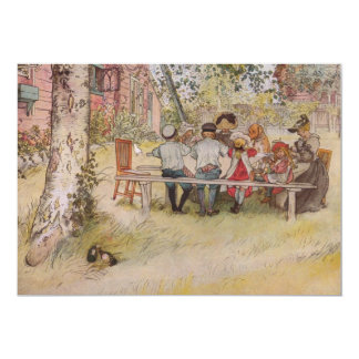 Breakfast Under the Big Birch 5x7 Paper Invitation Card