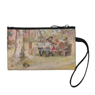 Breakfast Under the Birch Tree Coin Wallet