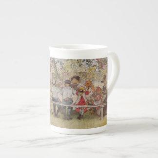 Breakfast Under the Birch Trees Tea Cup
