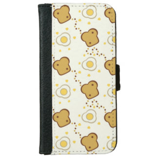 Breakfast Wallet Phone Case For iPhone 6/6s