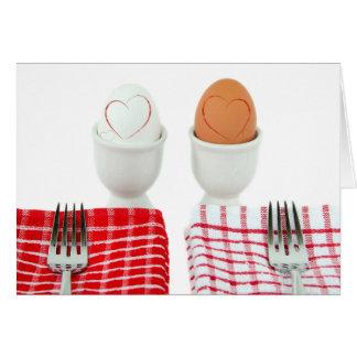 Breakfast Wedding Anniversary Card