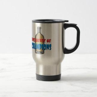 Breakfast Whisky 15 Oz Stainless Steel Travel Mug