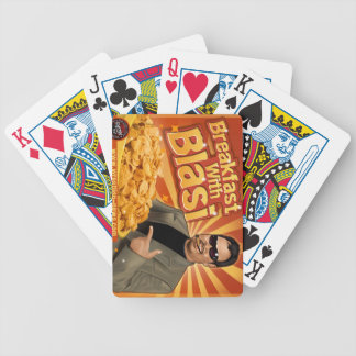Breakfast With 'Blasi Bicycle Playing Cards
