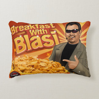 Breakfast With 'Blasi / Growing Up Don Tony Pillow