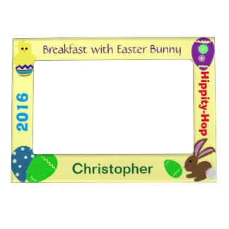 Breakfast with Easter Bunny NAME Picture Frames