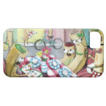 Breakfast with Family of Pancakes iPhone 5 Case