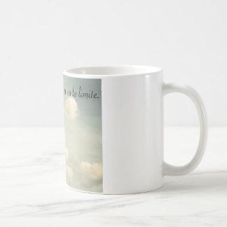Breakfast with the sky <3 classic white coffee mug