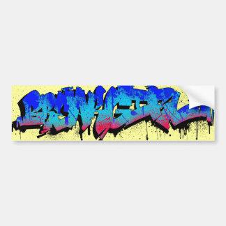Breakgirl_BumperSticker Bumper Sticker