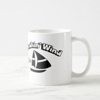 Breakin' Wind Classic White Coffee Mug