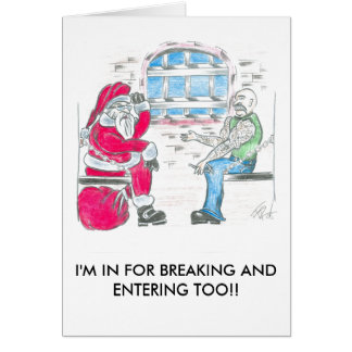 BREAKING AND ENTERING CARD