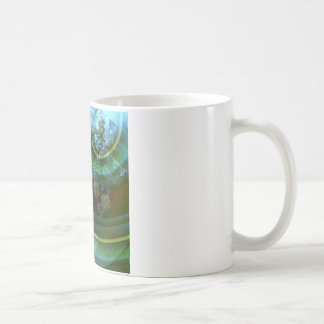 Breaking Apart Abstract Coffee Mug
