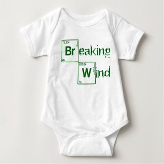 Breaking Bad Inspired Breaking Wind Infant Creeper