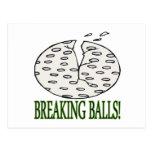 Breaking Balls Postcard