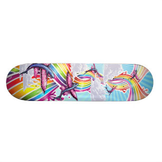 Breaking boundaries custom skate board