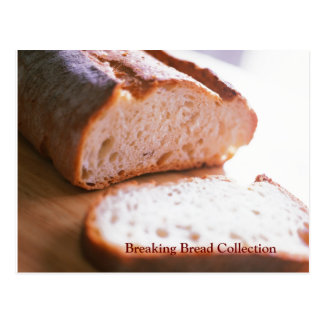Breaking Bread Recipe Card Collection  Wings Postcard