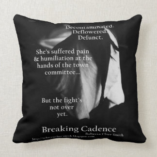 Breaking Cadence [Defunct] Square Cushion Throw Pillow